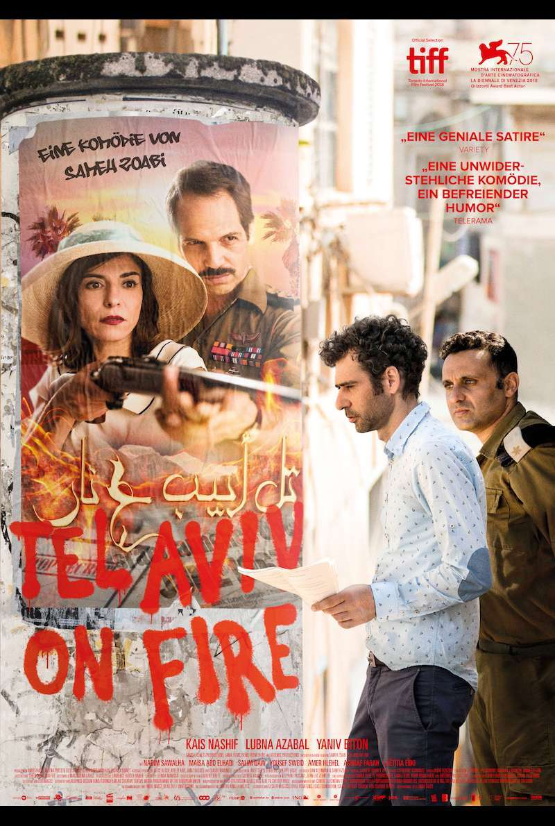 Filmplakat zu Tel Aviv on Fire (2018)