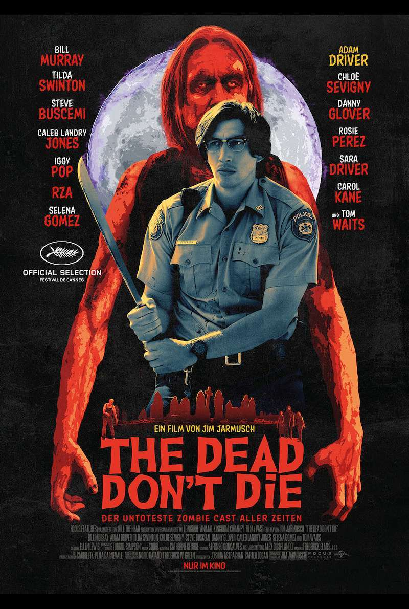 Character Poster zu The Dead Don't Die (2019)