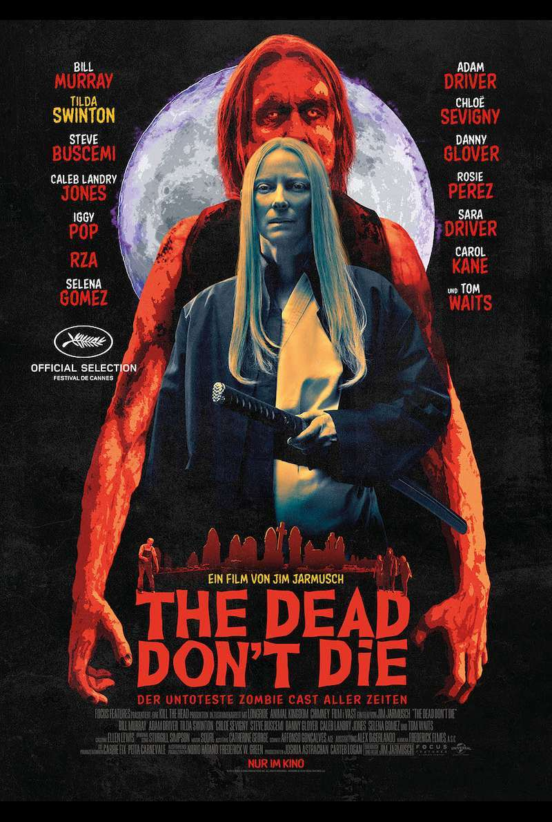 Character Poster 4 zu The Dead Don't Die (2019)