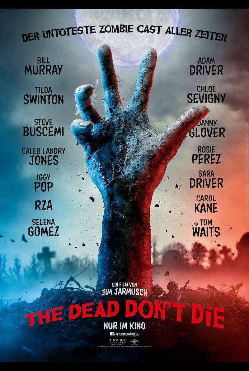 Teaserplakat zu The Dead Don't Die (2019)