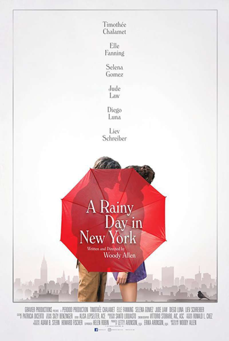 Bild zu A Rainy Day in New York von Woody Allen