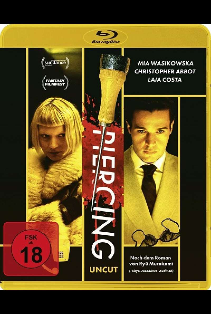 Piercing - DVD-Cover