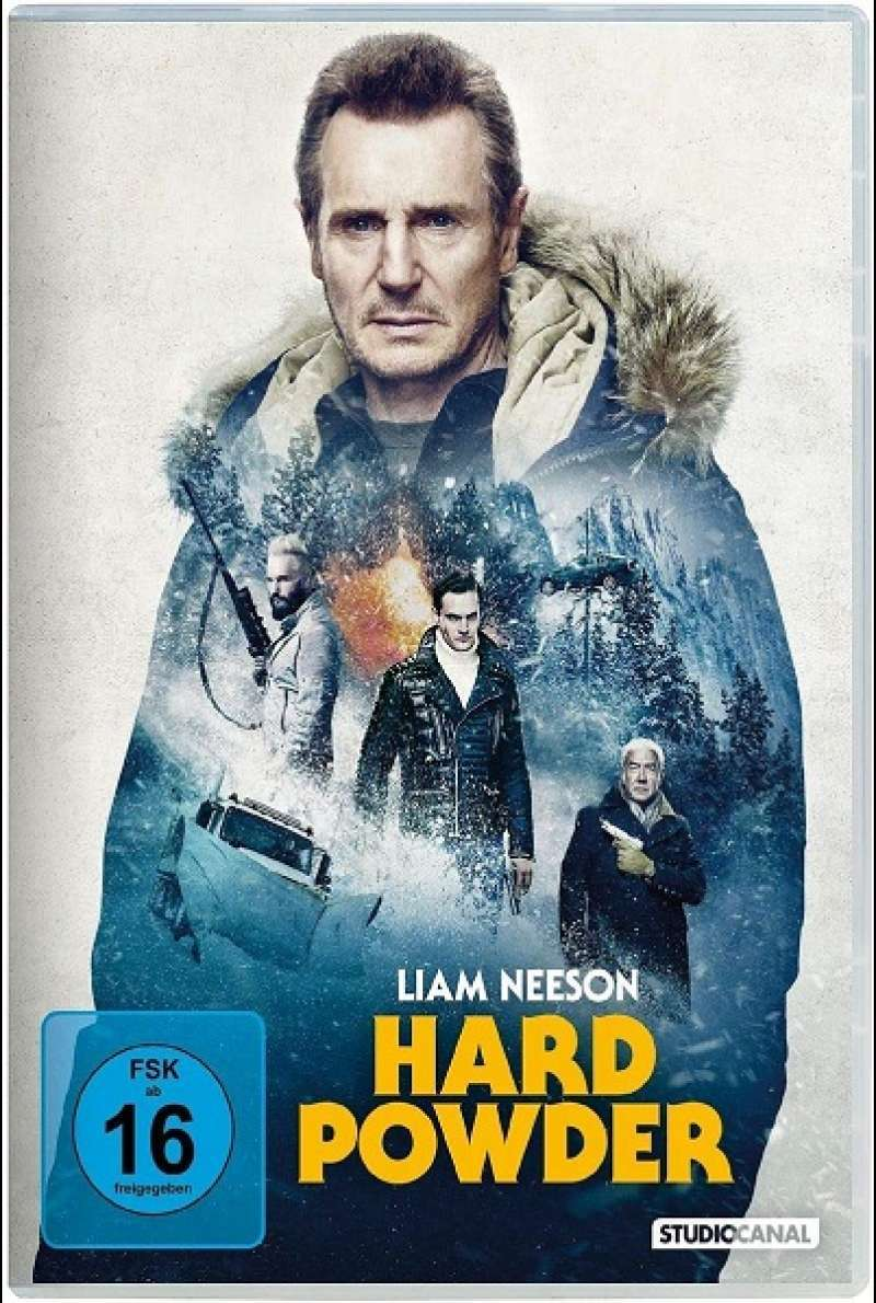 Hard Powder - DVD-Cover