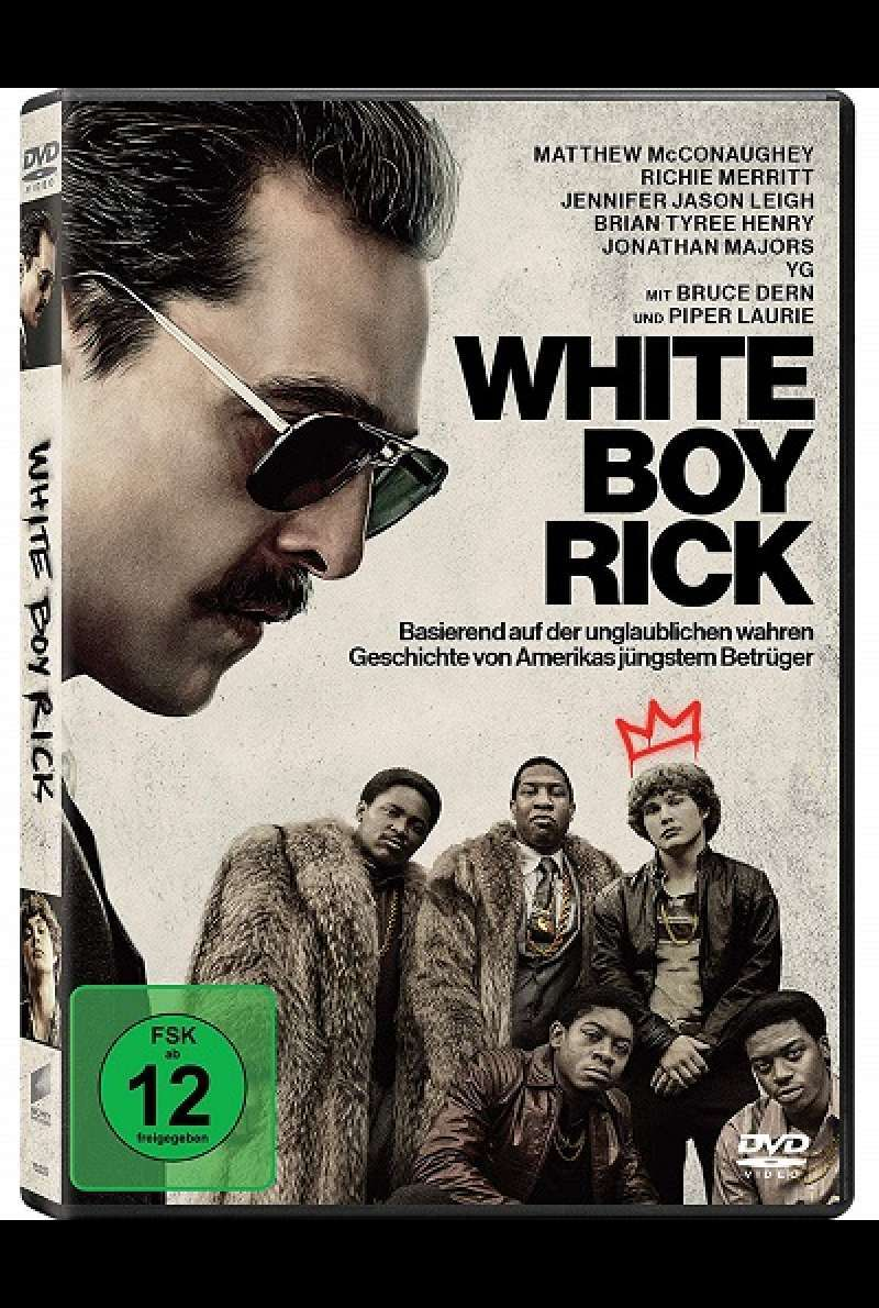 White Boy Rick - DVD-Cover