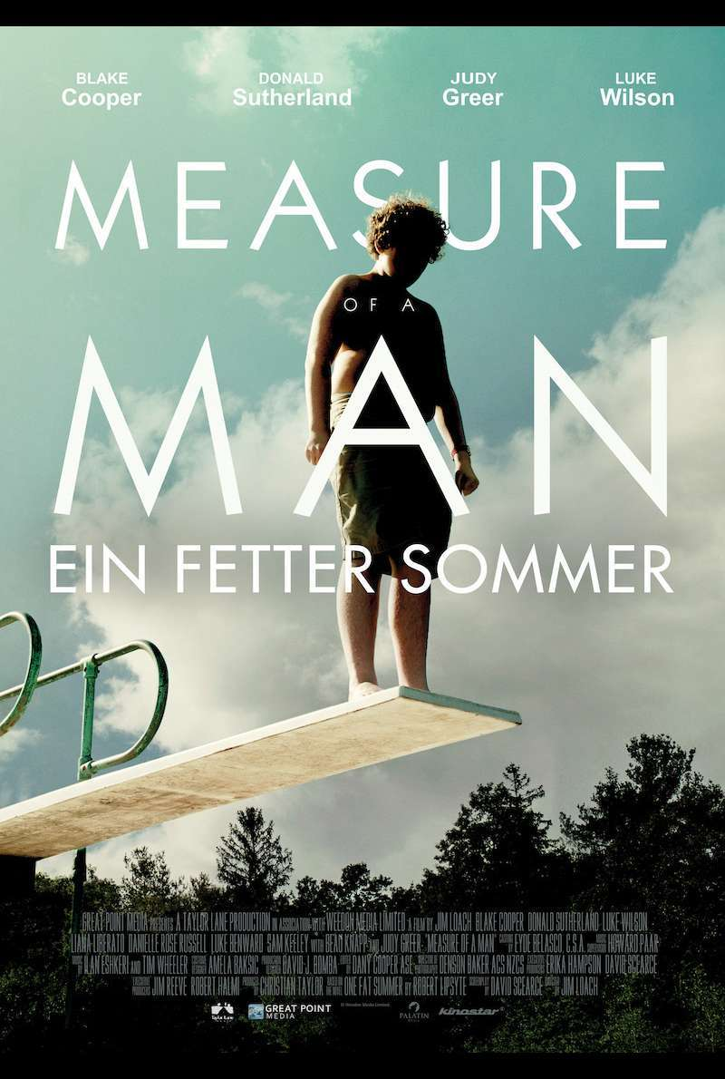 Filmplakat zu Measure of a Man - Ein fetter Sommer (2017)
