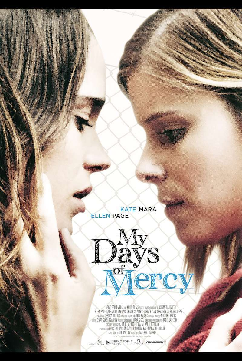 Filmplakat zu My Days of Mercy (2017)
