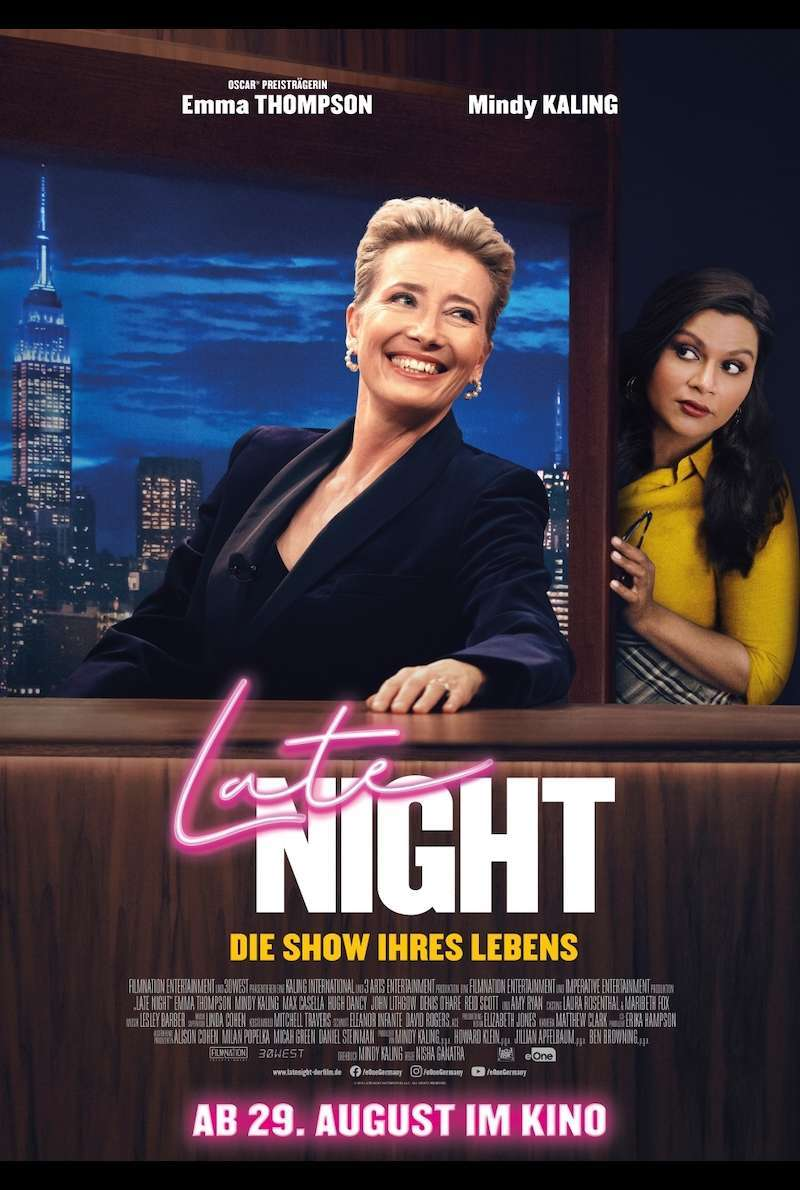 Filmplakat zu Late Night (2019)
