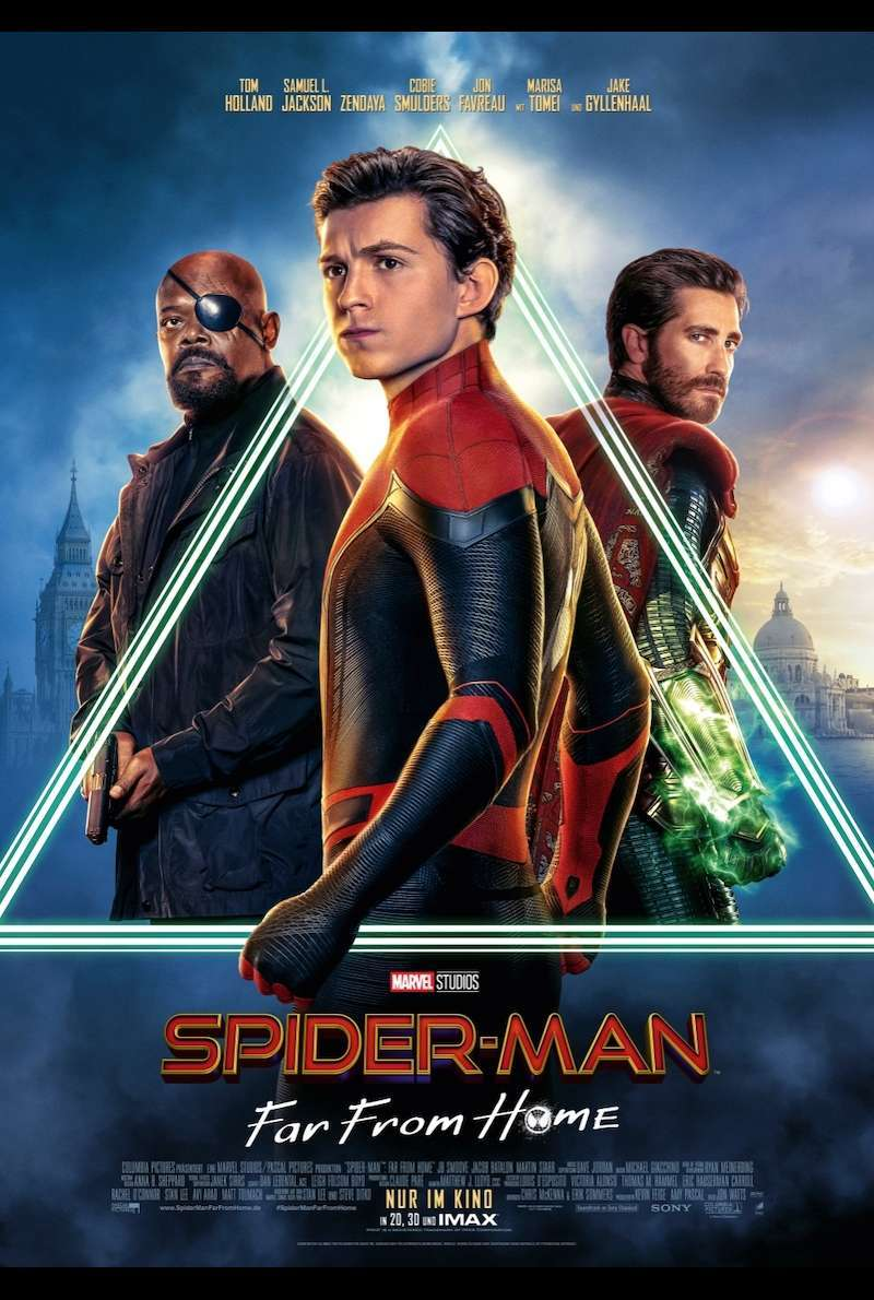 Filmplakat zu Spider-Man: Far From Home (2019)