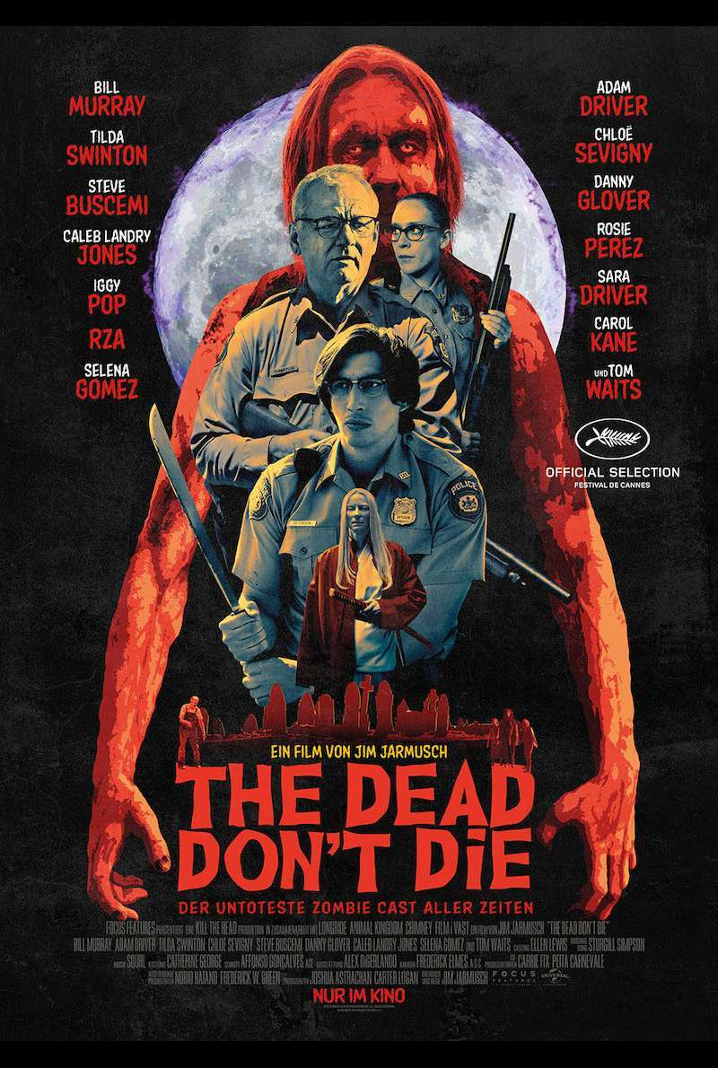 Filmplakat zu The Dead Don't Die (2019)