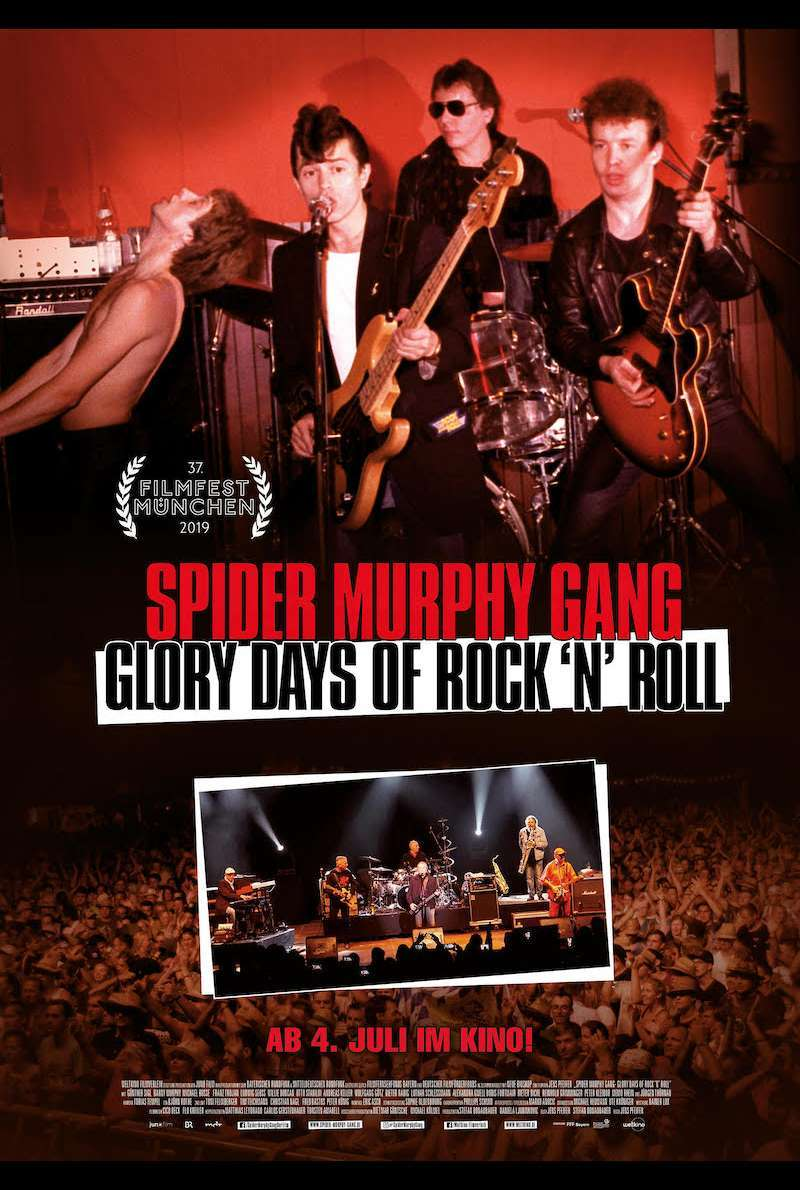 Filmplakat zu Spider Murphy Gang - Glory Days of Rock 'n' Roll (2019)
