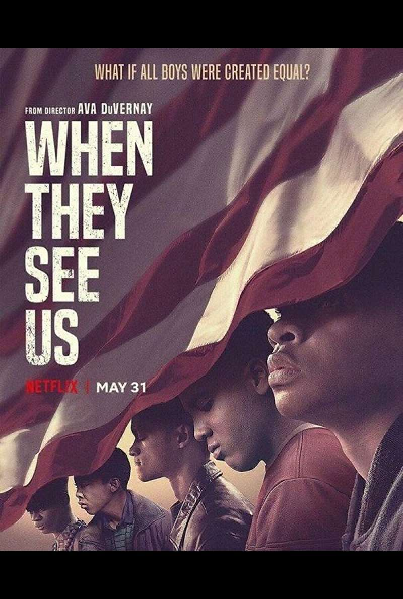 When They See Us - Plakat (US)