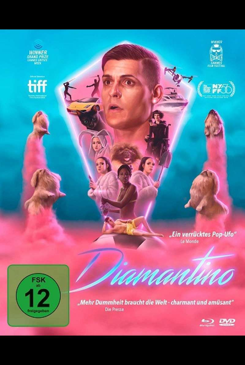 Diamantino - Blu-ray-Cover
