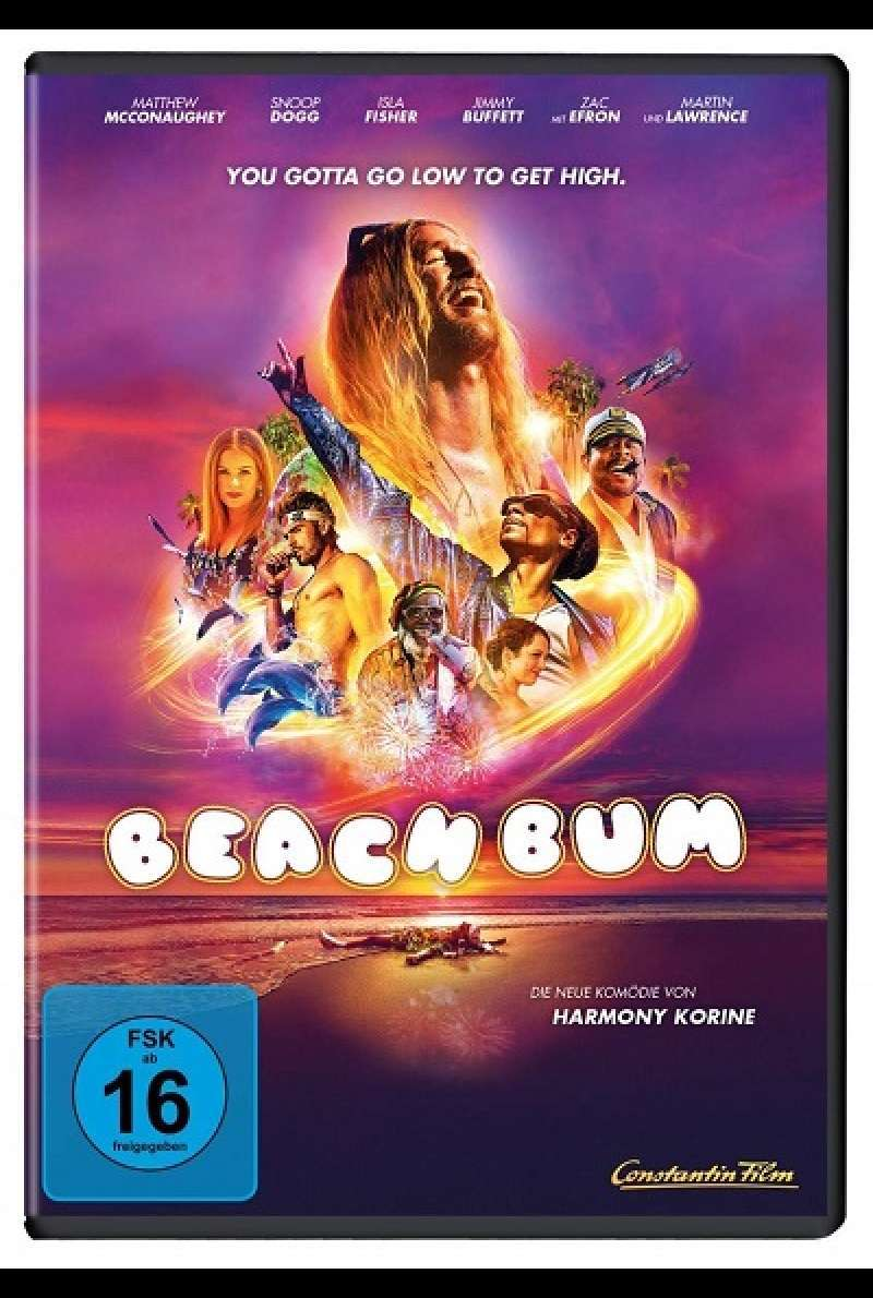 Beach Bum - DVD-Cover