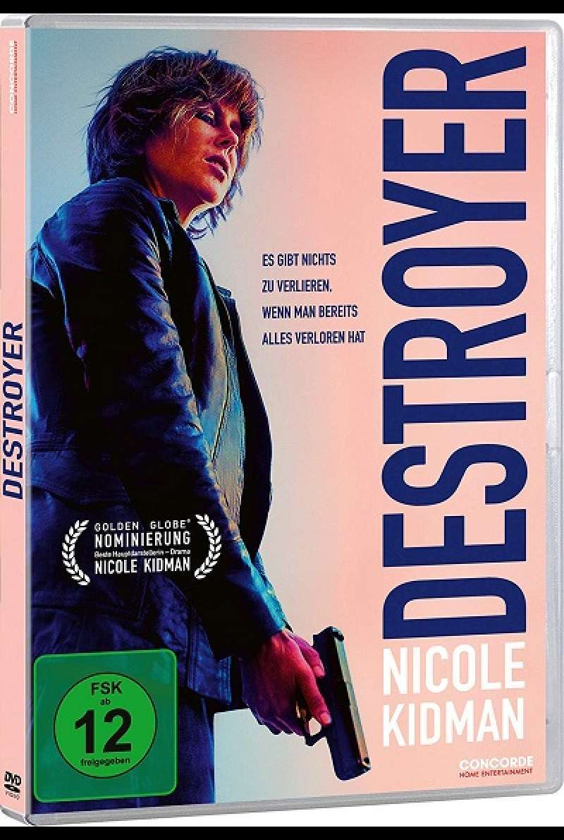 Destroyer - DVD-Cover