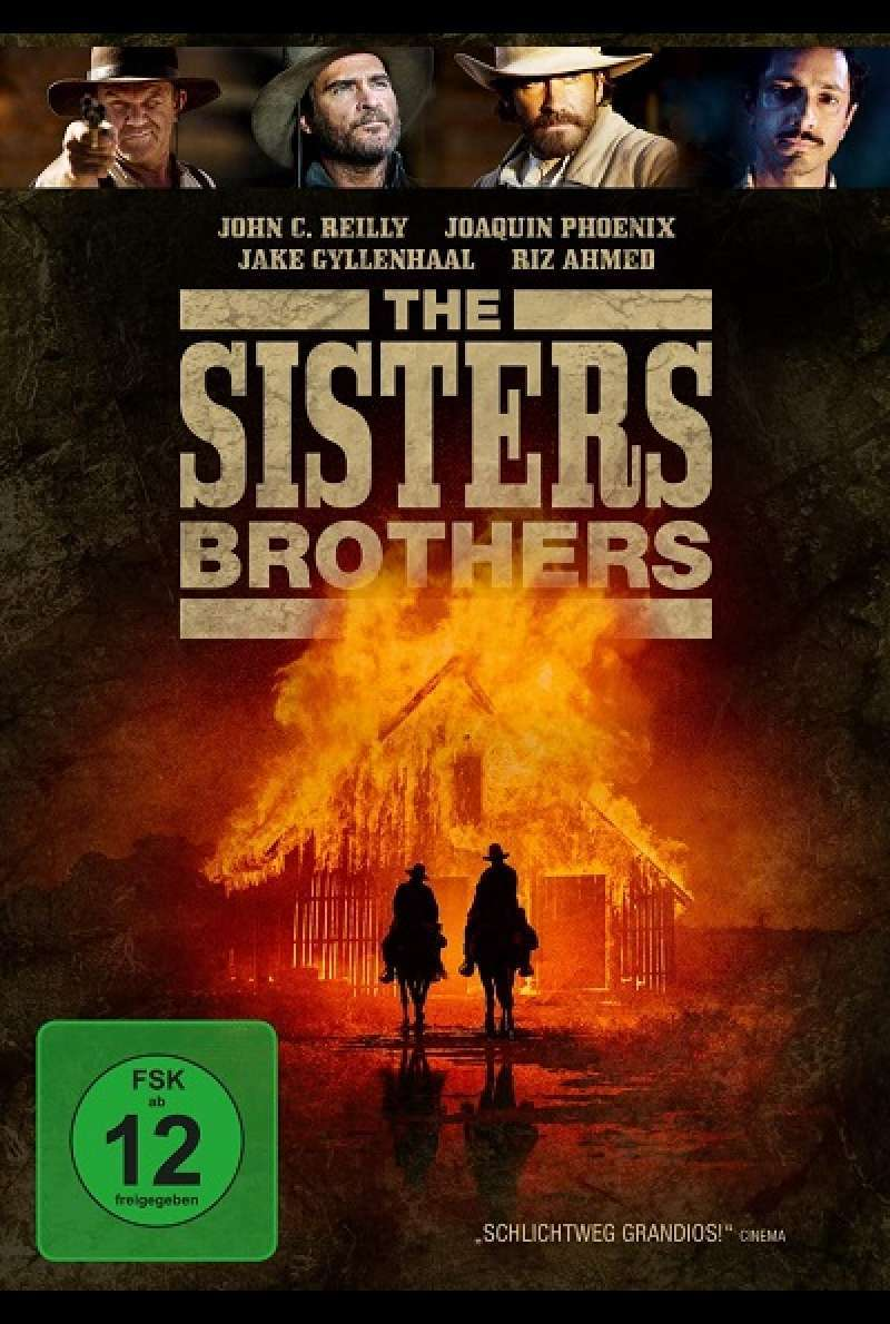 The Sisters Brothers - DVD-Cover