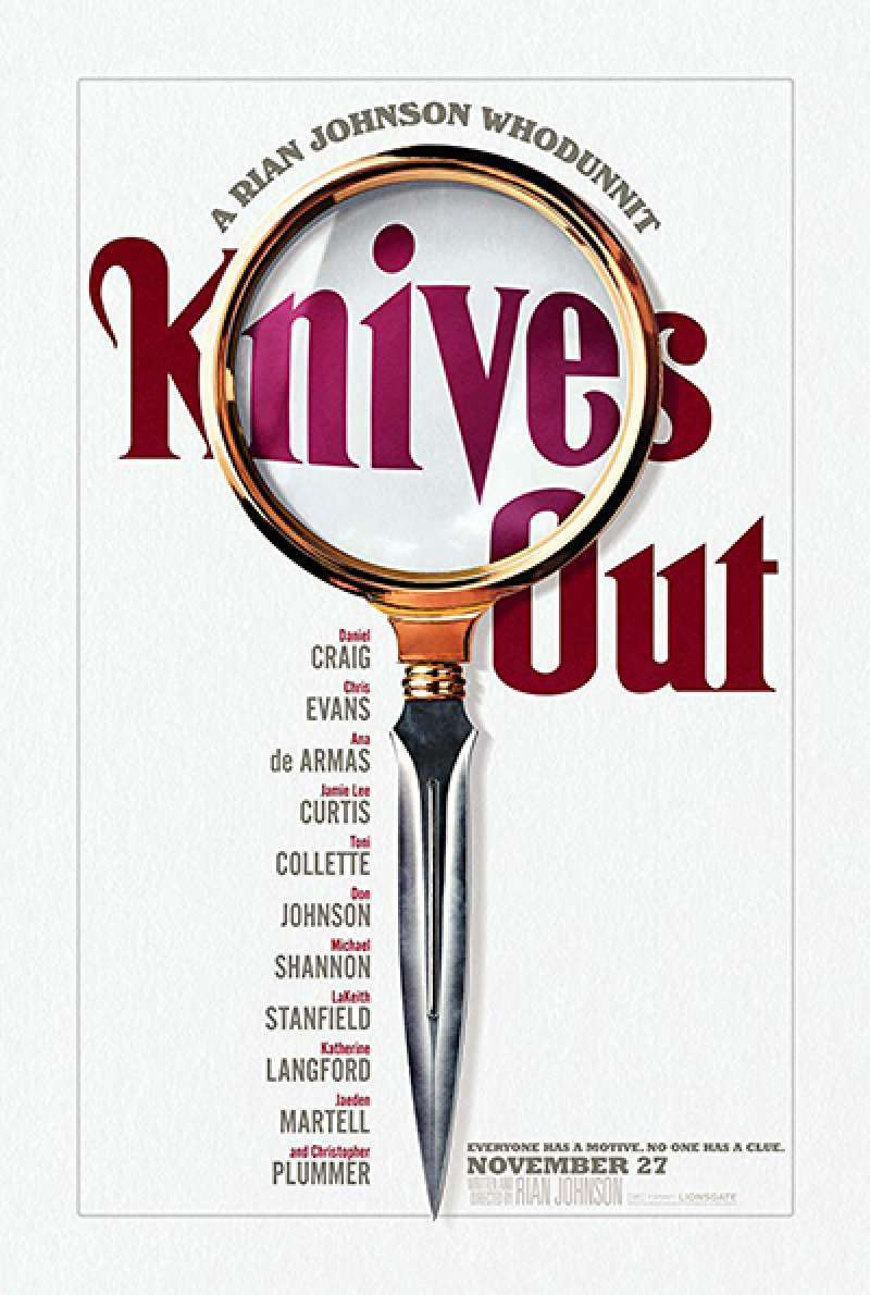 Bild zu Knives Out von Rian Johnson