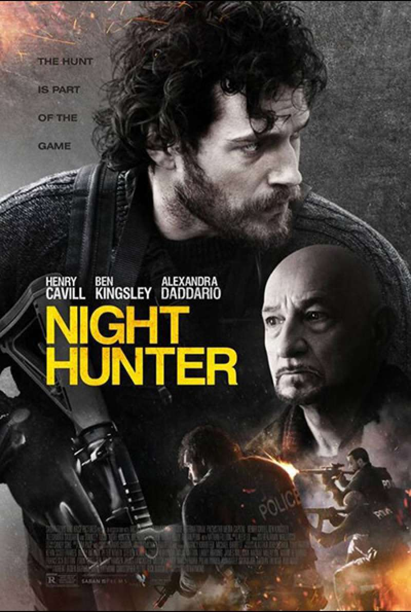 Bild zu Night Hunter von David Raymond