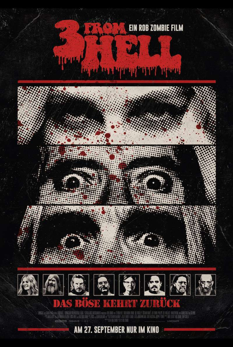 Filmplakat zu 3 From Hell (2019)