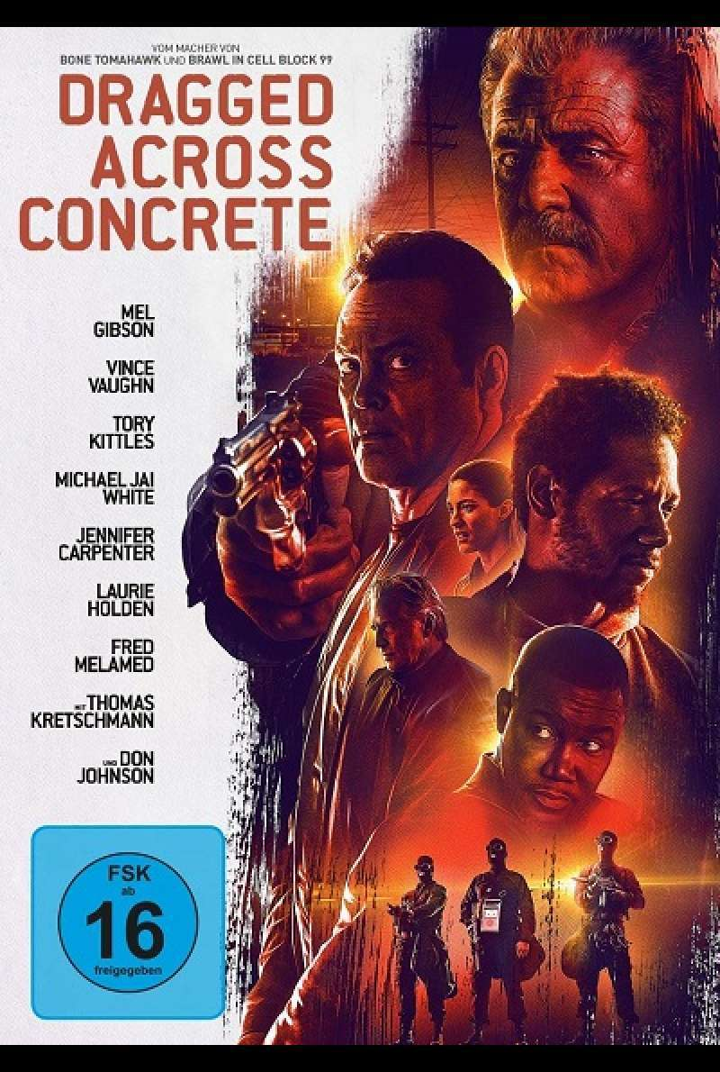 Dragged Across Concrete - DVD-Cover