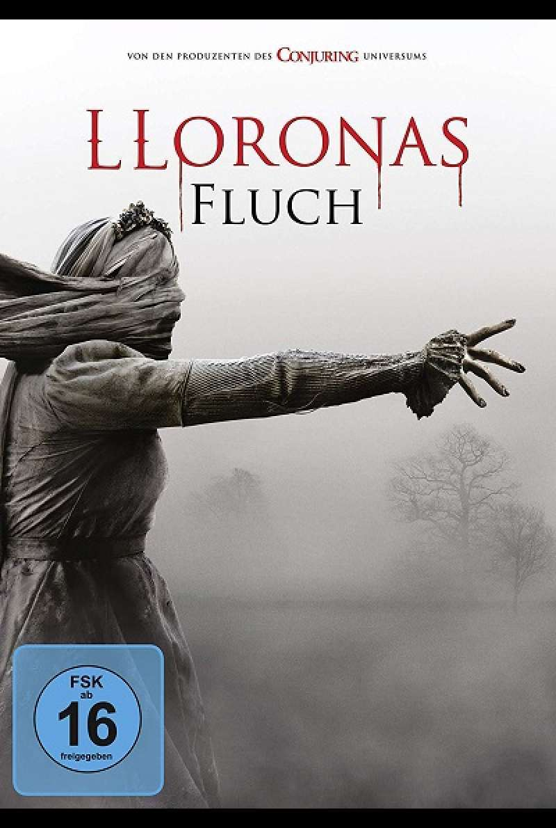 Lloronas Fluch - DVD-Cover