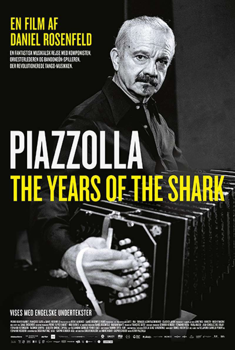 Bild zu Astor Piazzolla - The Years of the Shark von Daniel Rosenfeld