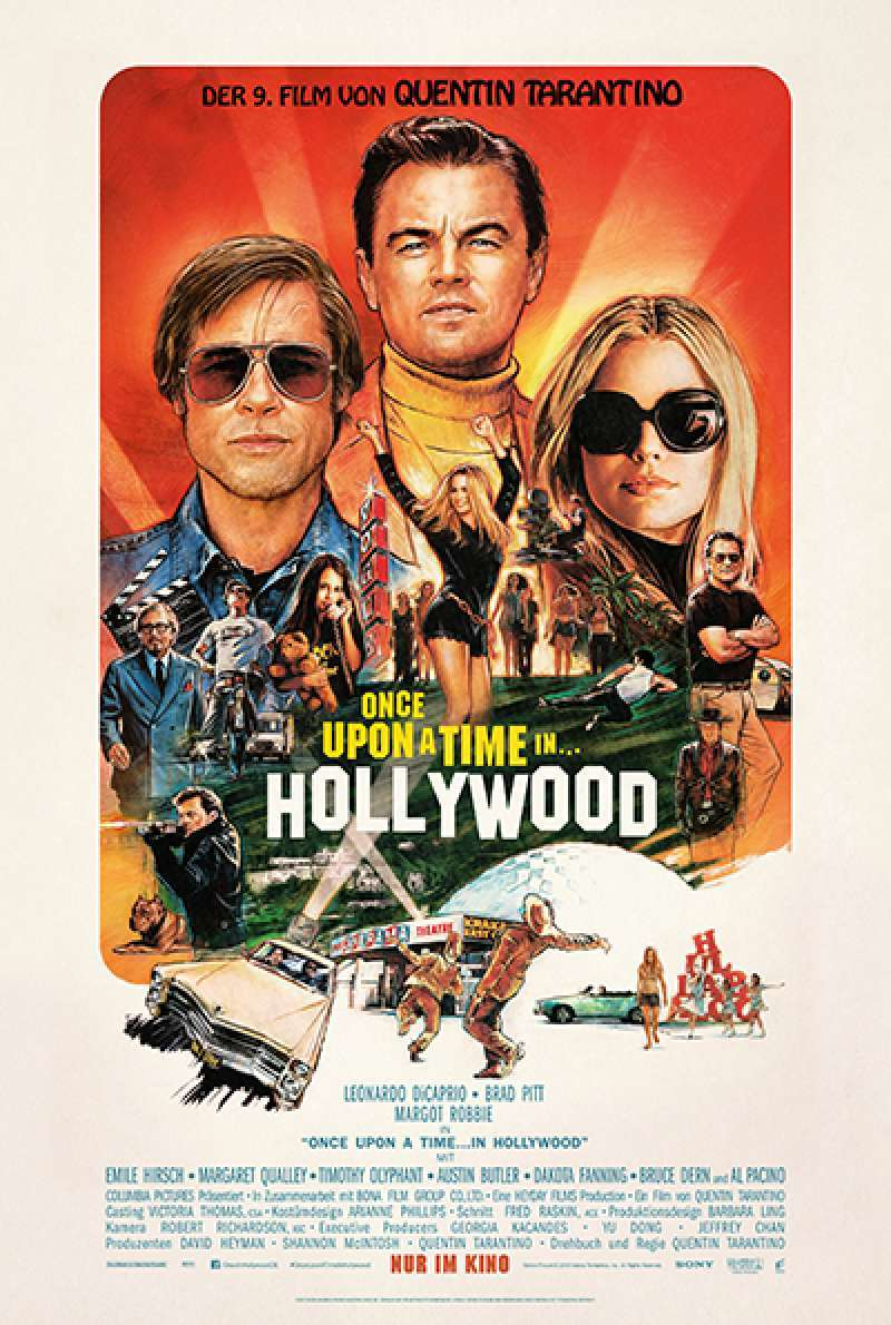 Bild zu Once Upon a Time in Hollywood von Quentin Tarantino