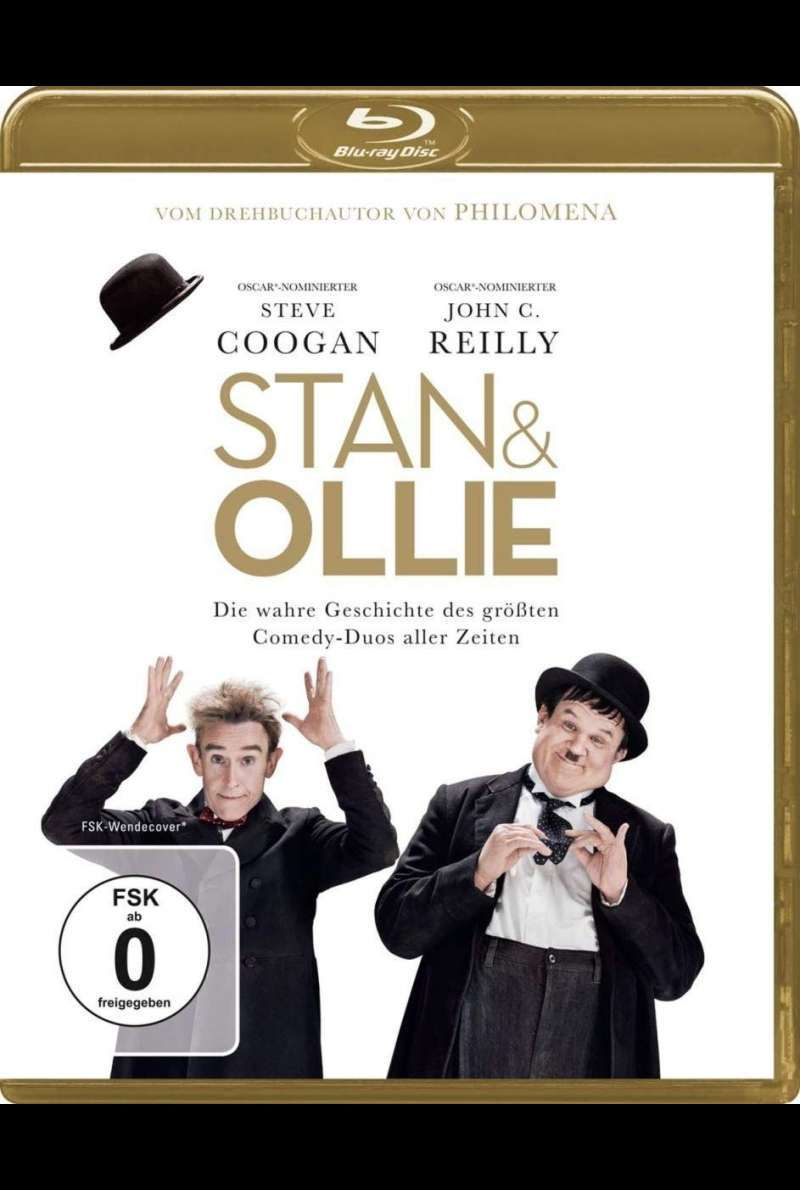 """Stan & Ollie"" BluRay-Cover"