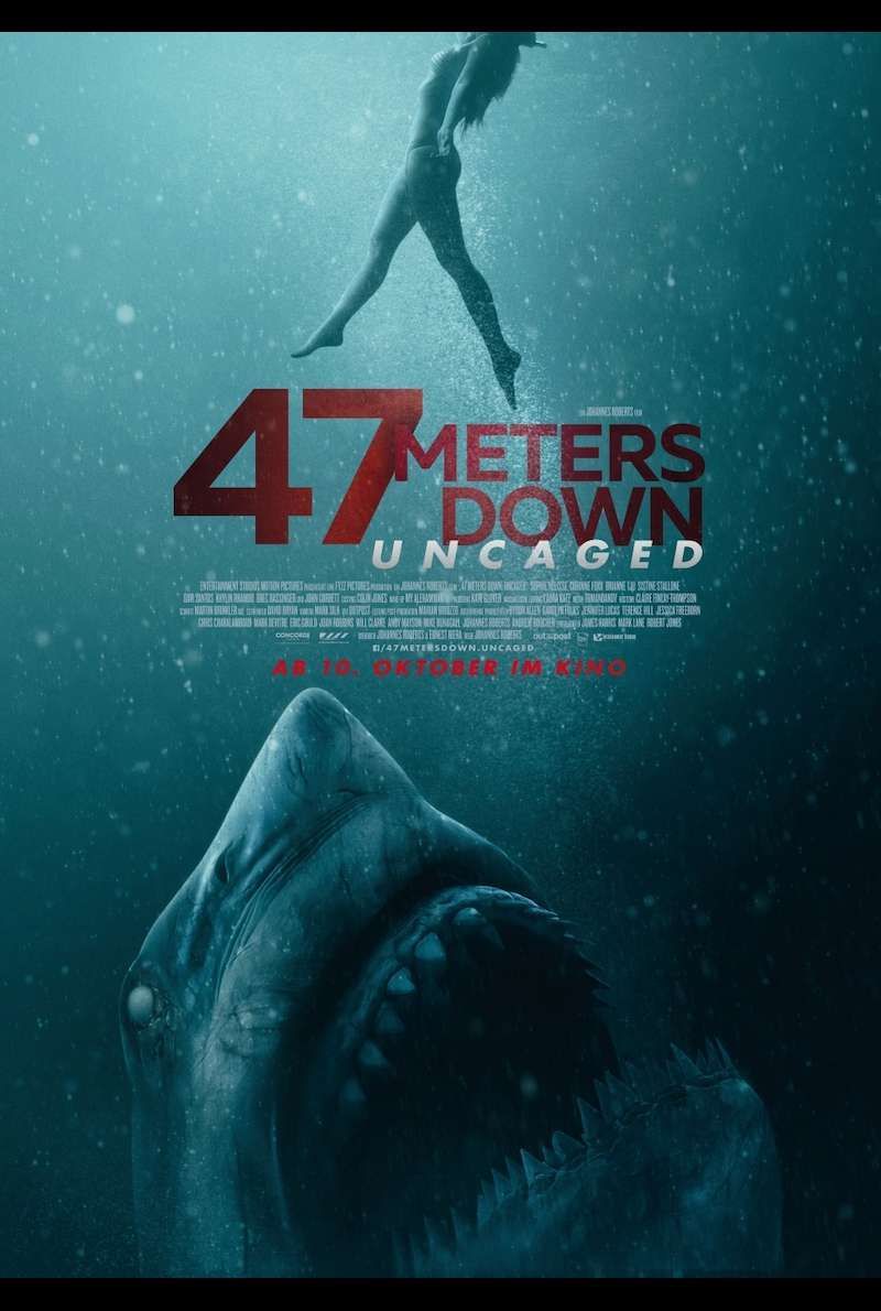 Filmplakat zu 47 Meters Down: Uncaged (2019)