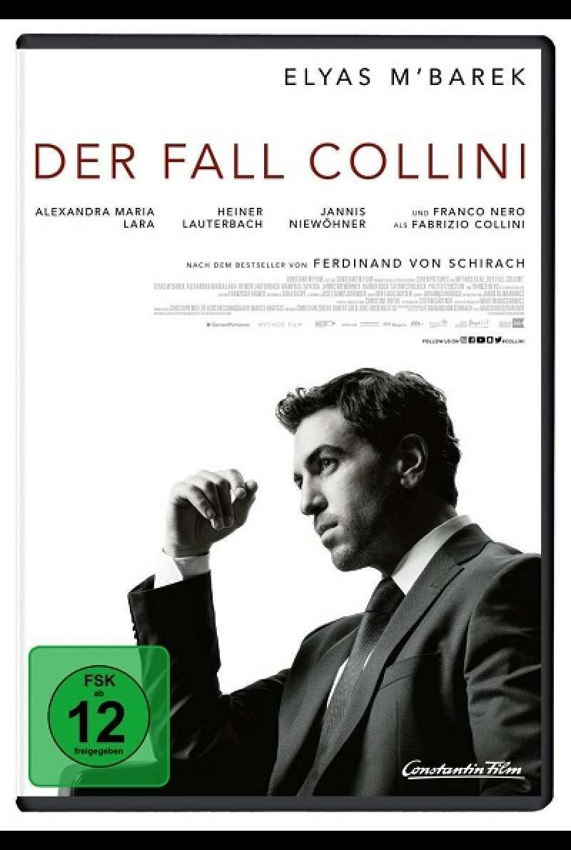 Der Fall Collini - DVD-Cover