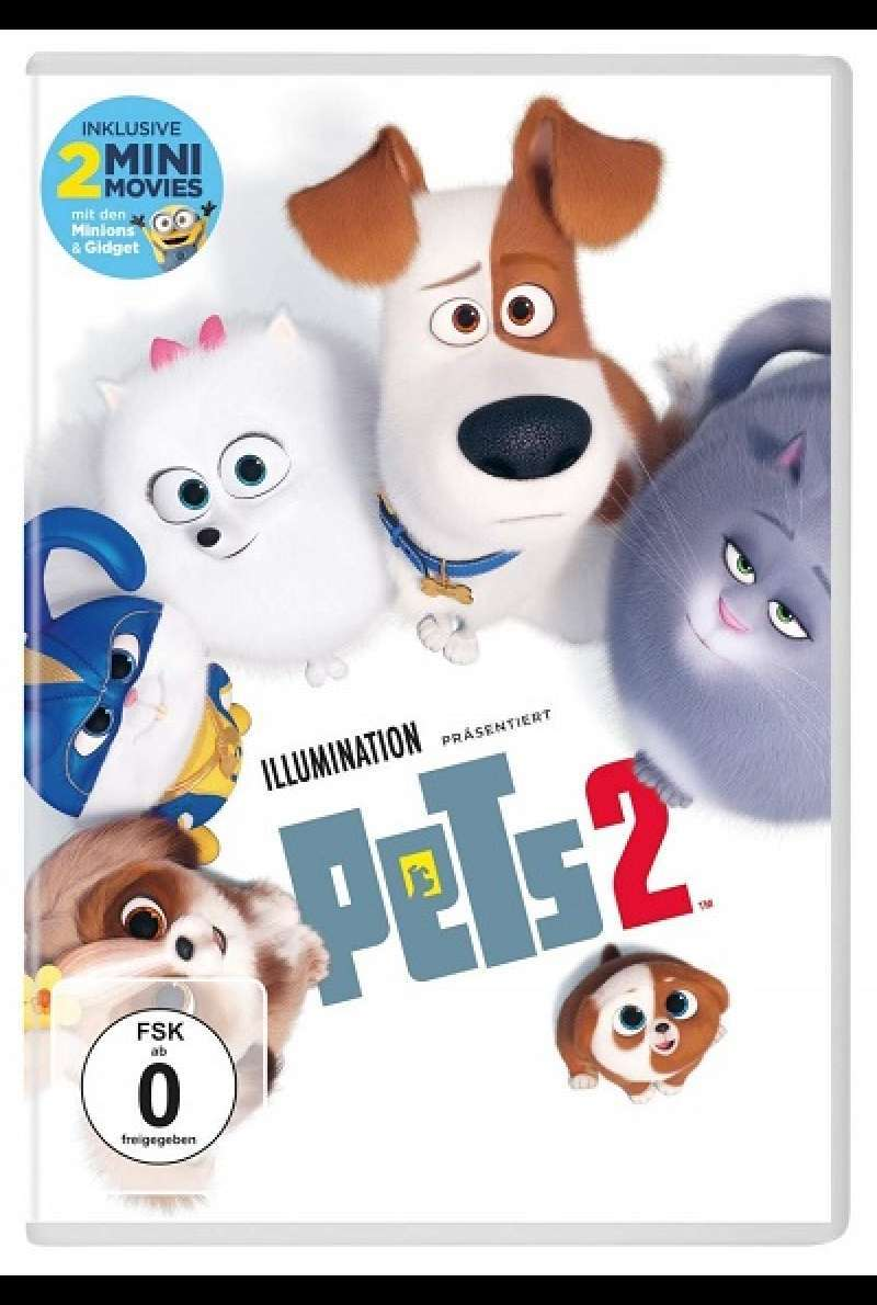 Pets 2 - DVD-Cover
