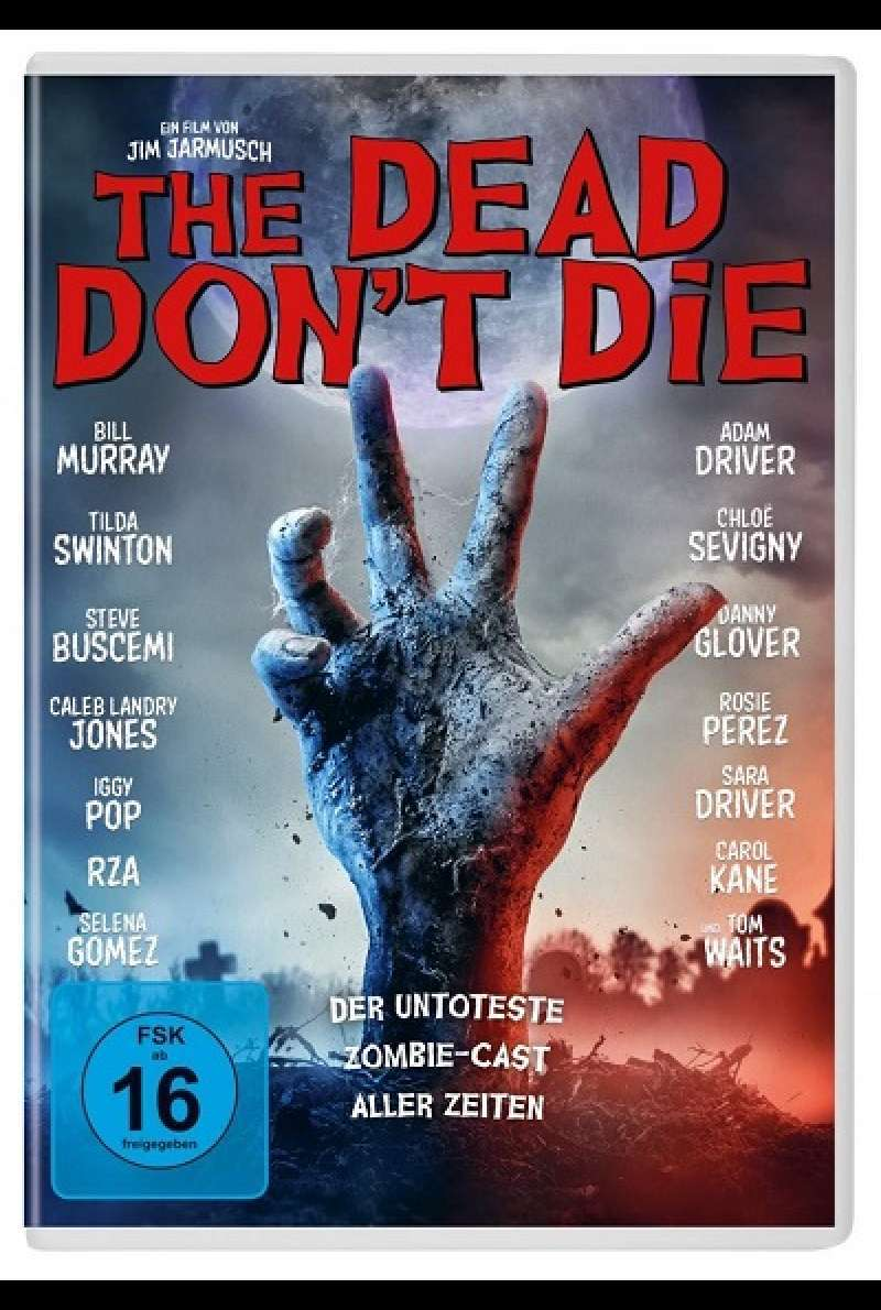 The Dead Don't Die - DVD-Cover