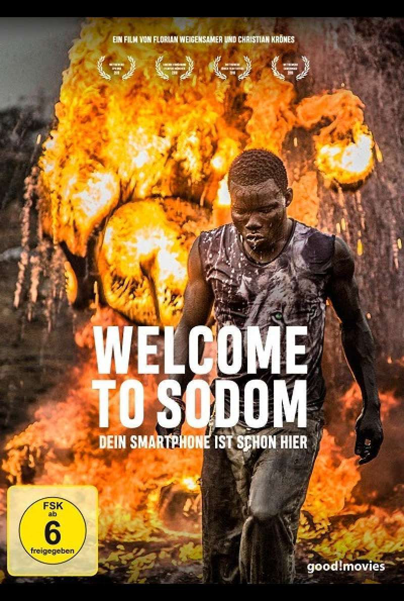 Welcome to Sodom - DVD-Cover