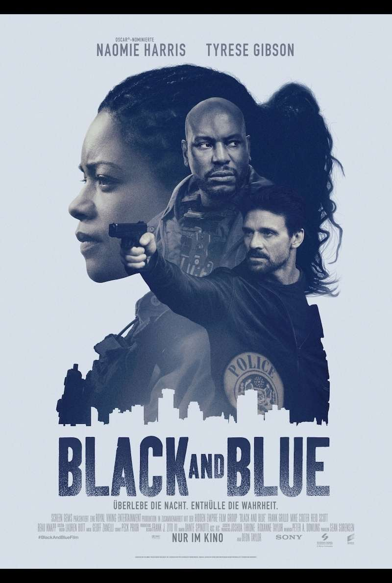 Filmplakat zu Black and Blue (2019)