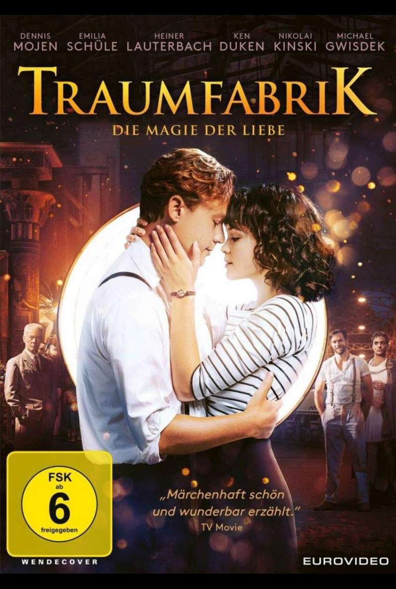 Traumfabrik DVD Cover