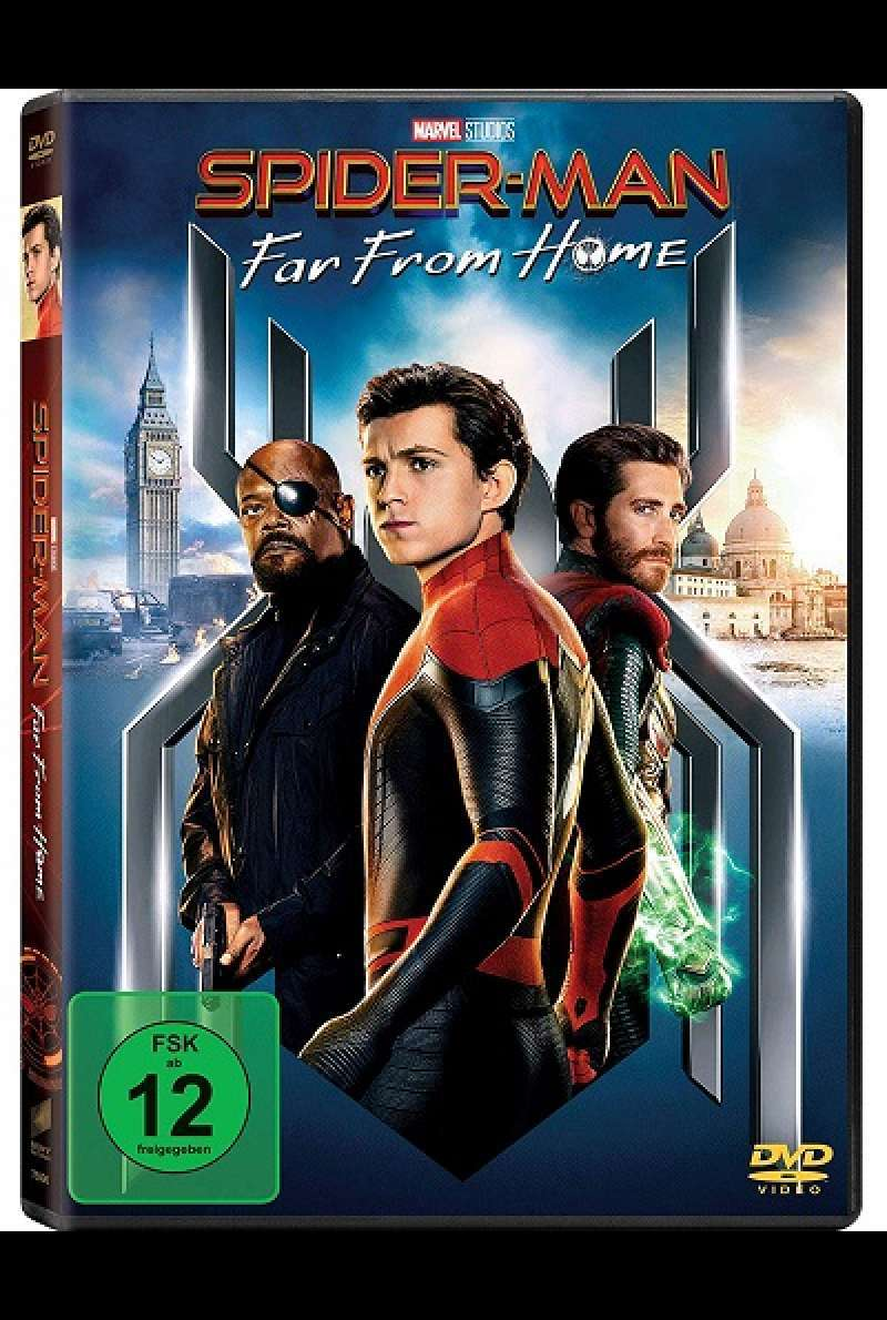Spider-Man: Far From Home - DVD-Cover