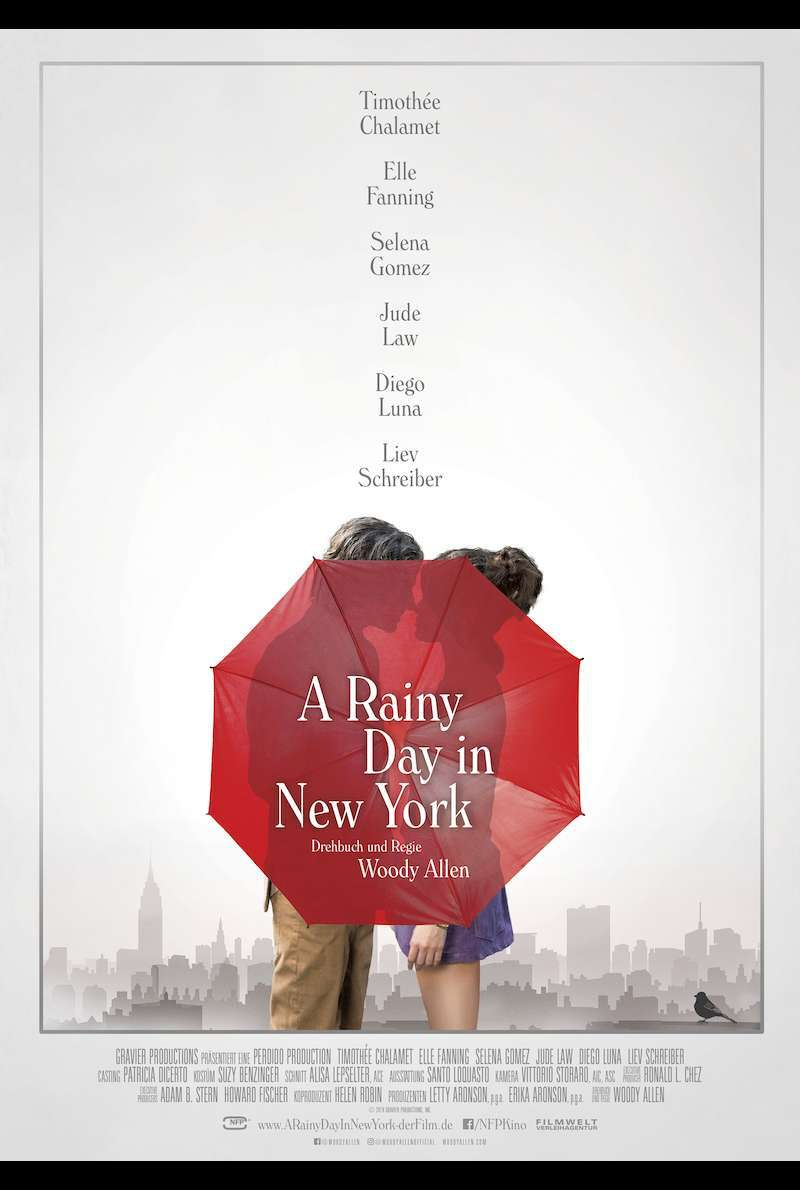 Filmplakat zu A Rainy Day in New York (2019)