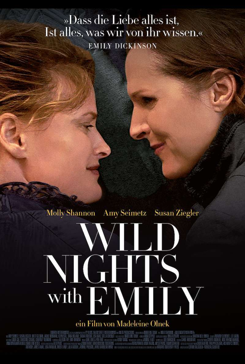 Filmplakat zu Wild Nights with Emily (2018)