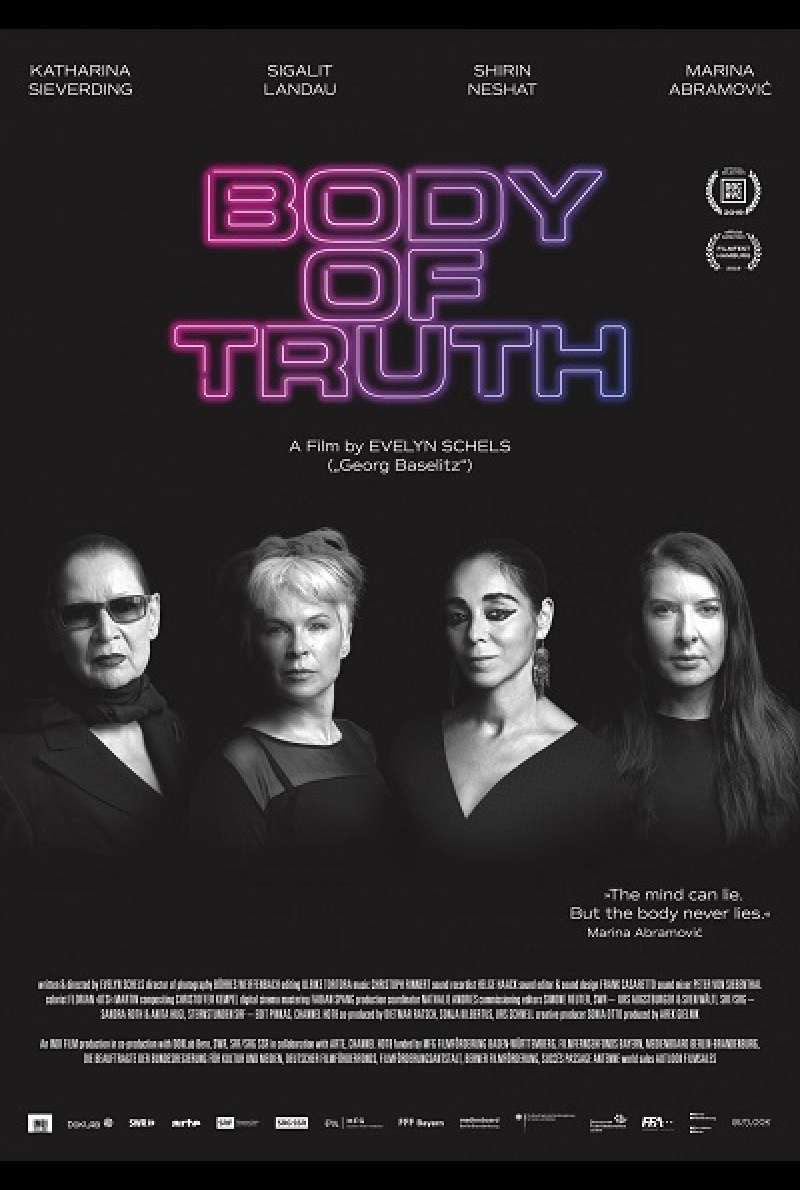 Body of Truth - Filmplakat (US)