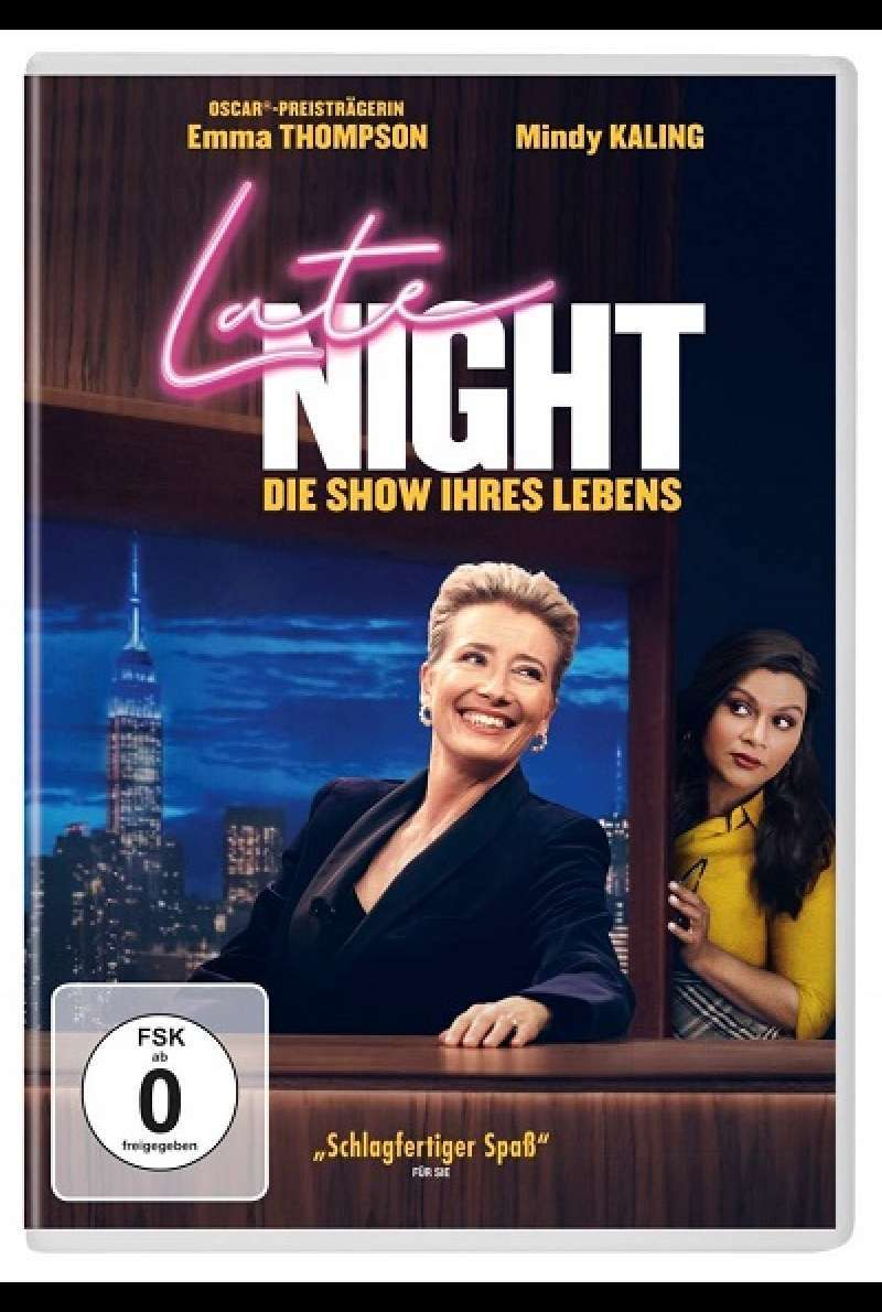 Late Night - DVD-Cover