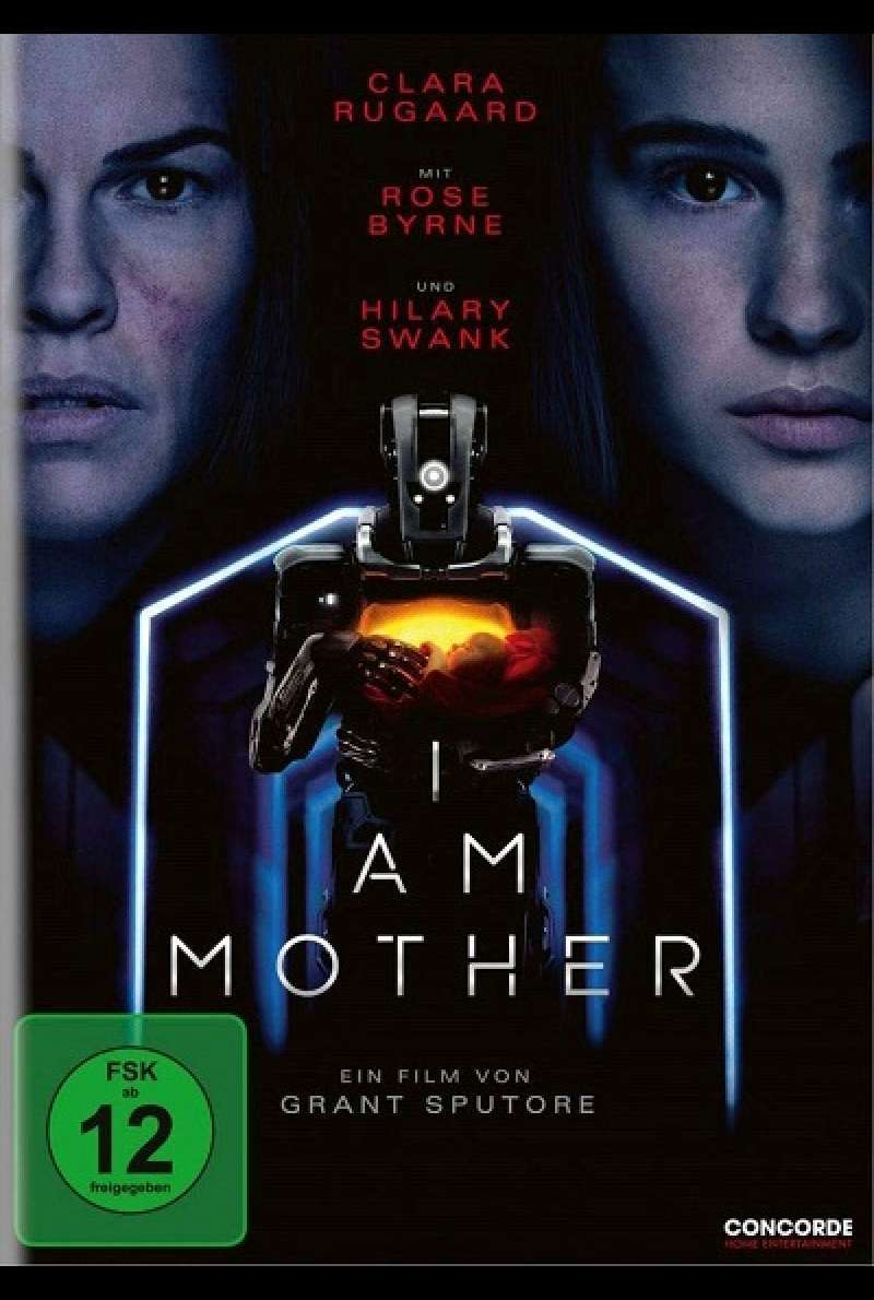 I Am Mother - DVD-Cover