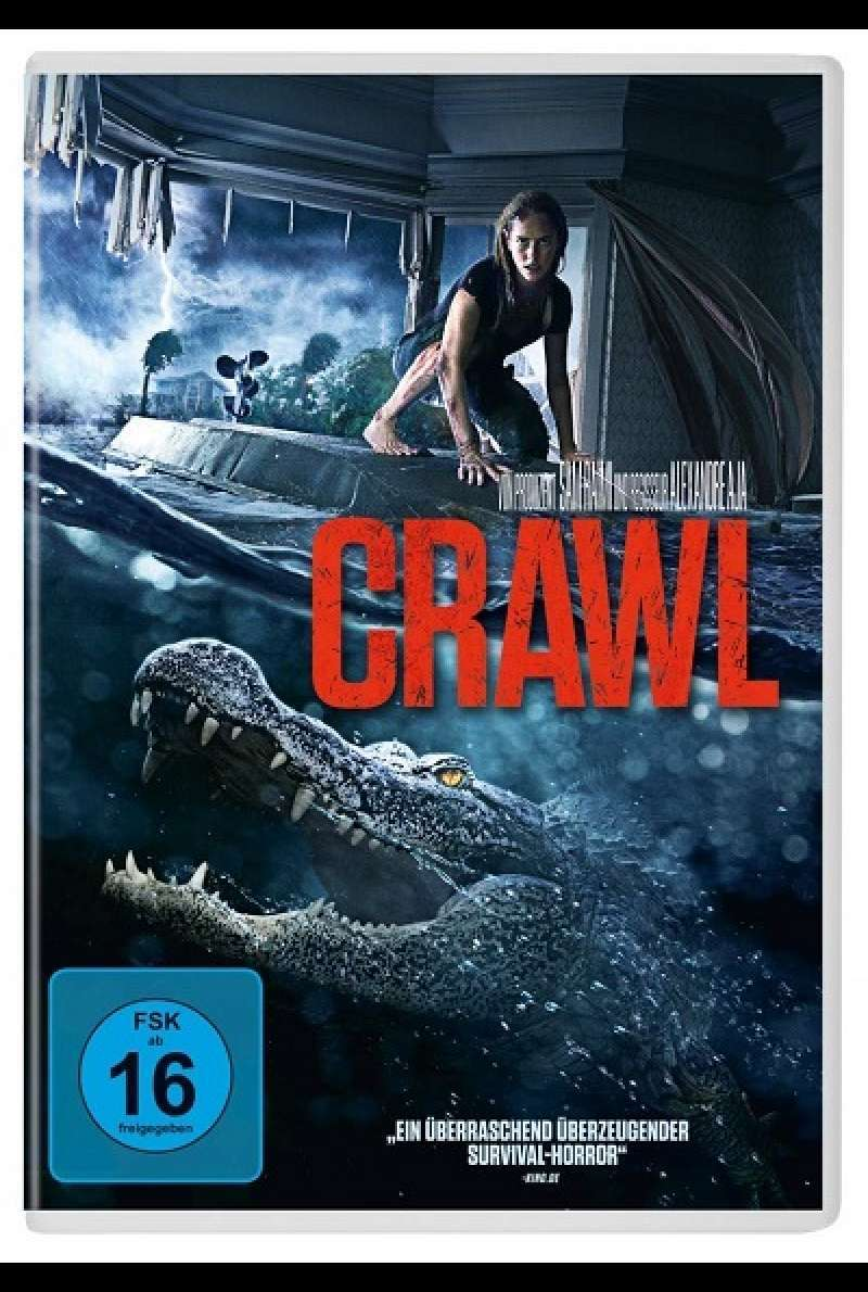 Crawl - DVD-Cover