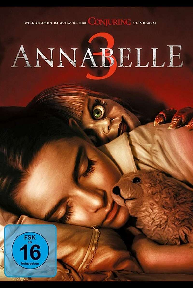 Annabelle 3 - DVD-Cover
