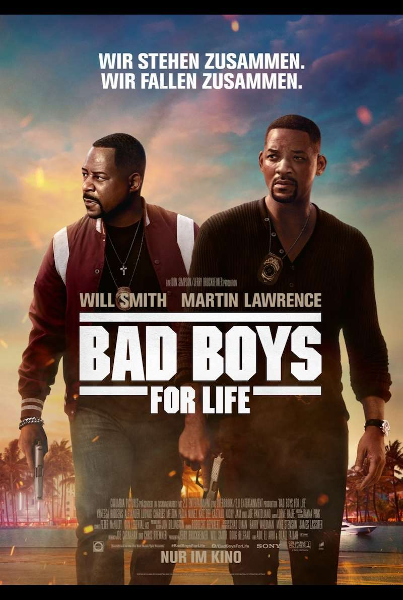 Filmplakat zu Bad Boys for Life (2020)