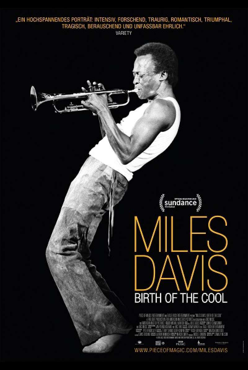 Miles Davis: Birth of the Cool - Filmplakat