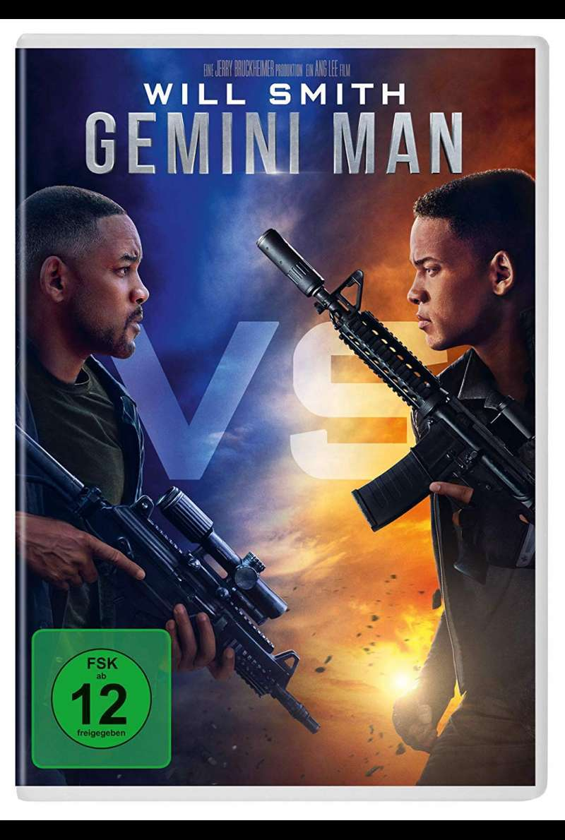 Gemini Man DVD Cover