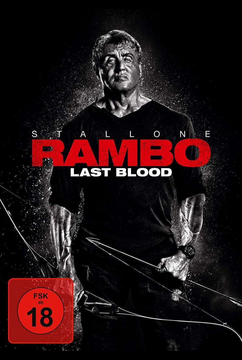 Rambo Last Blood DVD Cover