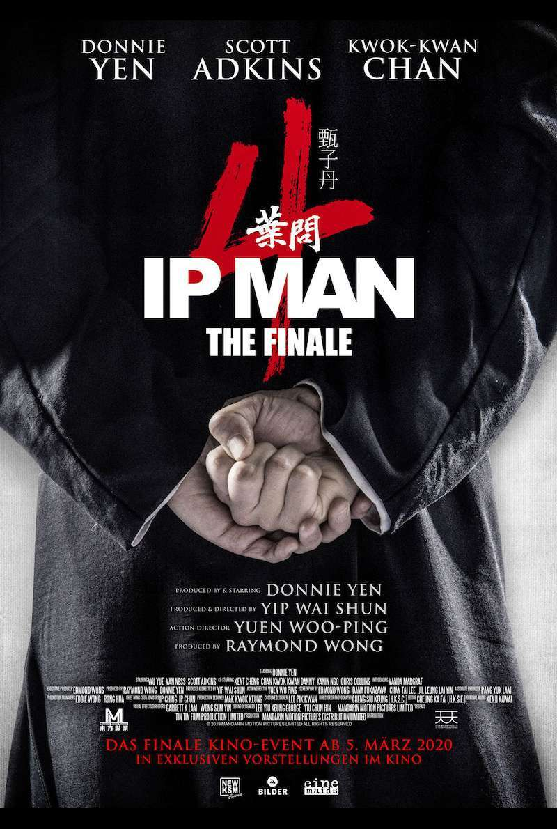 Filmplakat zu Ip Man 4: The Finale (2019)