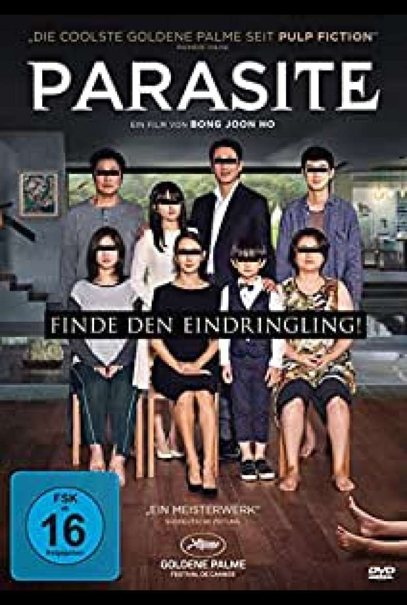 Parasite DVD Cover