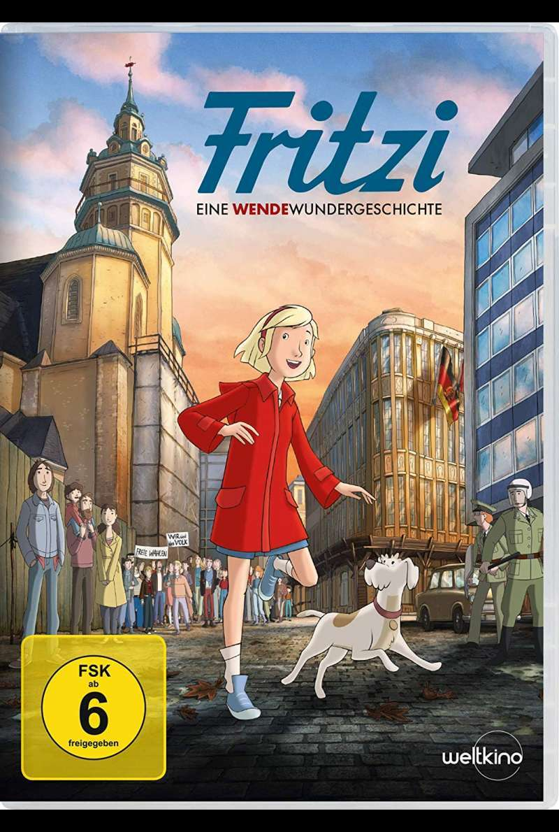 Fritzi DVD Cover