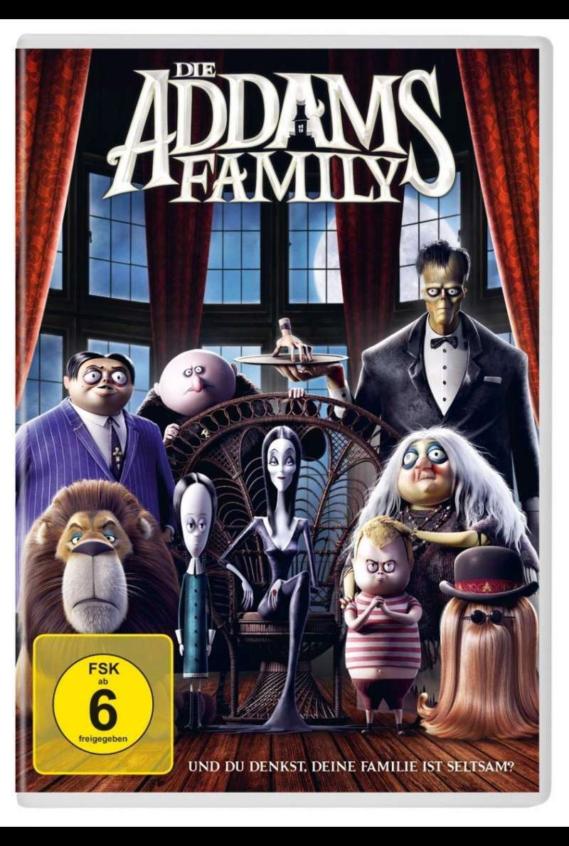 Die Addams Family DVD Cover